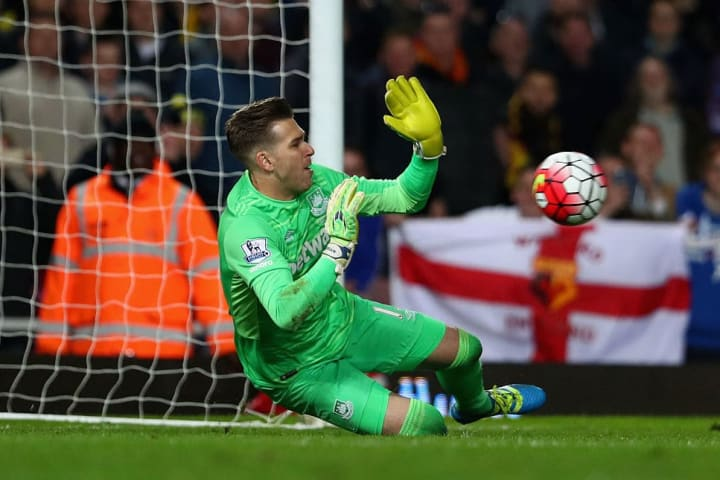 Adrian made three Premier League penalty saves in 2016