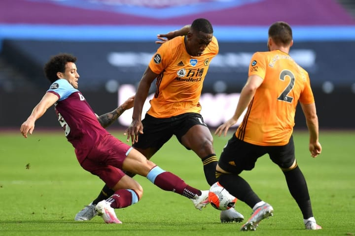 Wolves were the much better team on Saturday