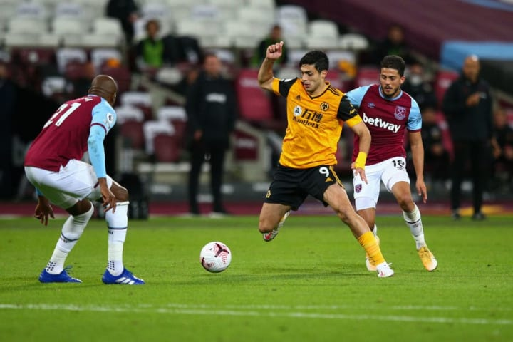 Raul Jimenez scored at the wrong end against West Ham