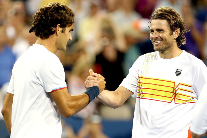 Roger Federer Mardy Fish