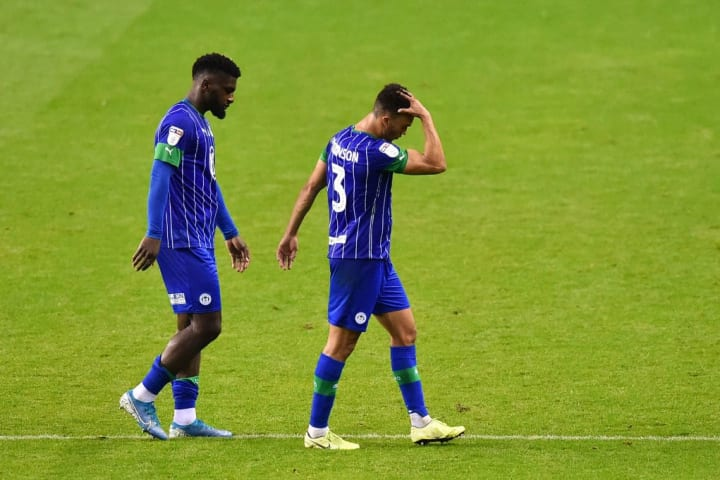 Robinson could not prevent Wigan's relegation after a points deduction