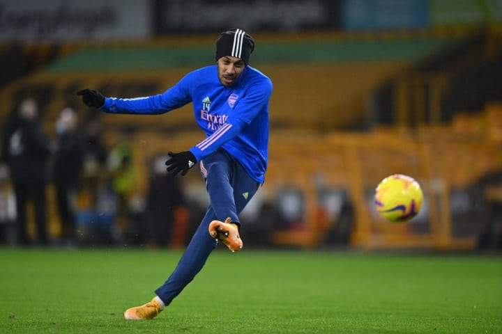 Aubameyang bisa kembali ke starting XI setelah menjadi pemain pengganti di Wolves dan Aston Villa