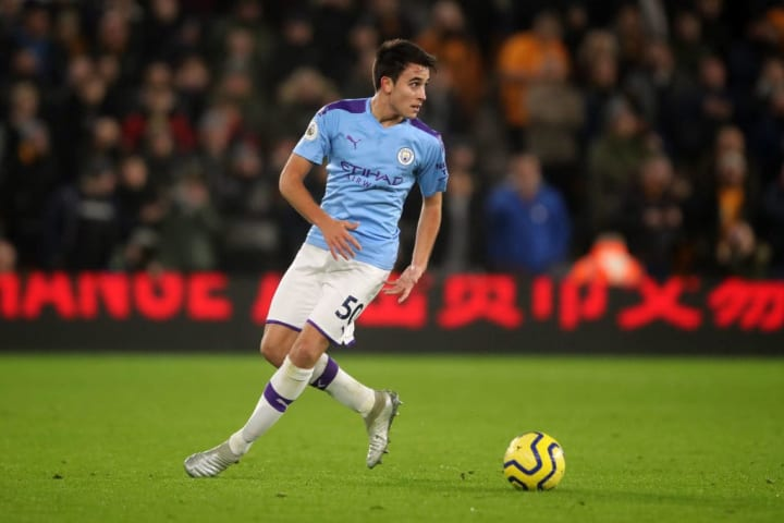 Eric Garcia started five of Manchester City's final seven Premier League games at the end of last season