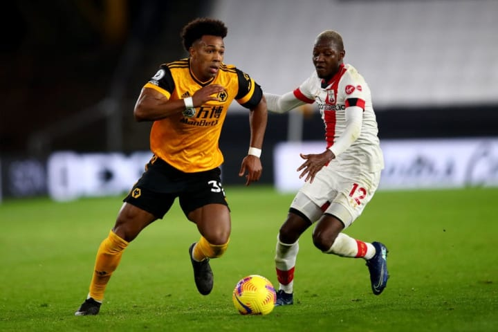 Traore has been in and out of the Wolves starting XI