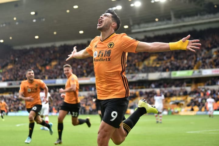 Jimenez celebrating one of his many goals