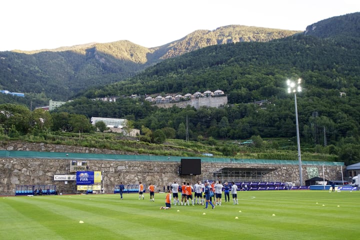 Estadi Comunal d'Andorra la Vella hosts Andora's national team's games until 2014