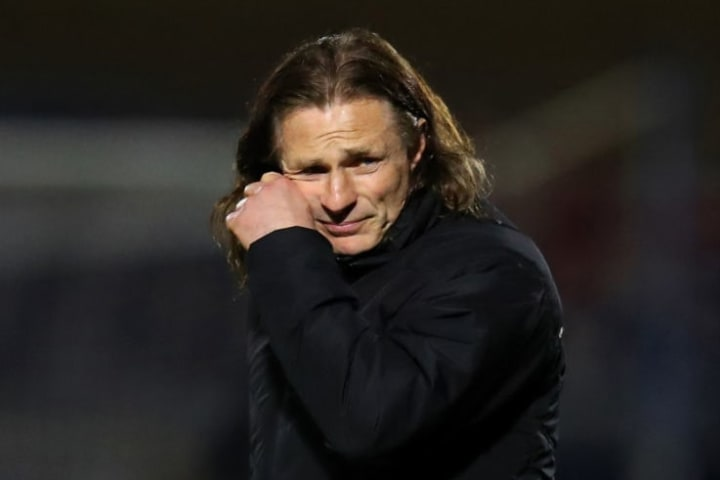 Gareth Ainsworth's Wycombe are all but mathematically relegated