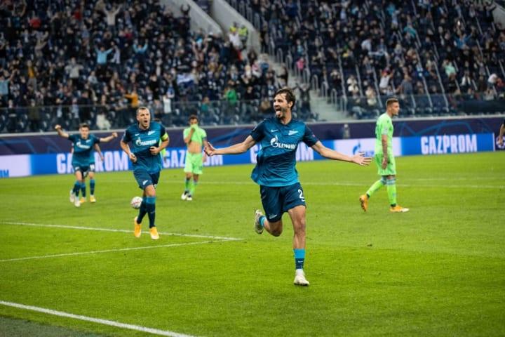 Yerokhin's goal was a beauty