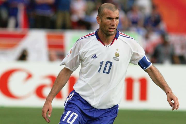 Zidane est numéro 1 sur Fifa pour la première fois