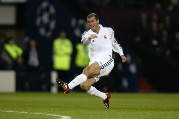 Zinedine Zidane of Real Madrid