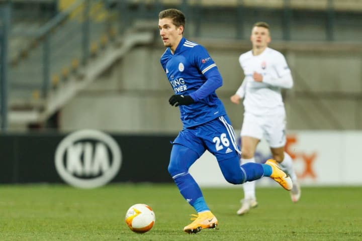 Praet was very lively in the number 10 role for the Foxes.