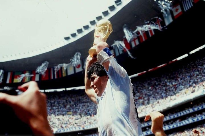 Maradona won the 1986 World Cup basically on his own