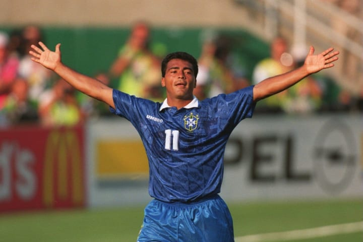 Romario at the 1994 World Cup