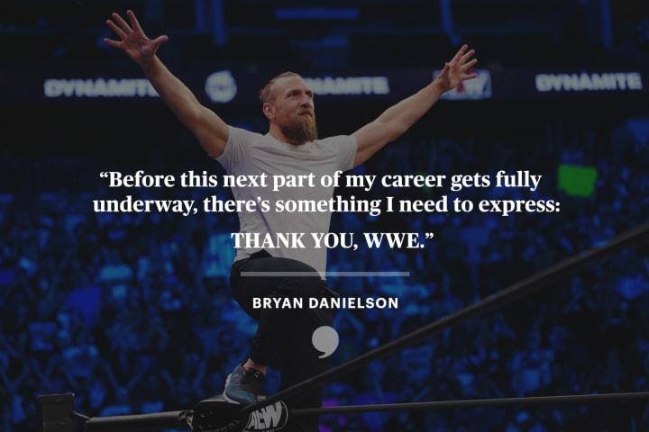 Bryan Danielson | Thank You, WWE | The Players' Tribune