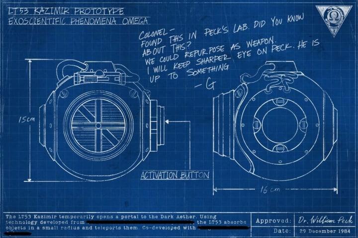 The LT53 Kazimir's blueprint.