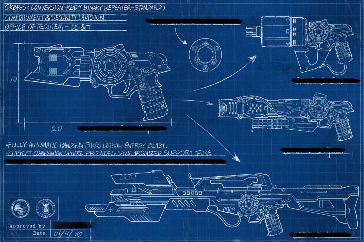 The CRBR-S blueprint.