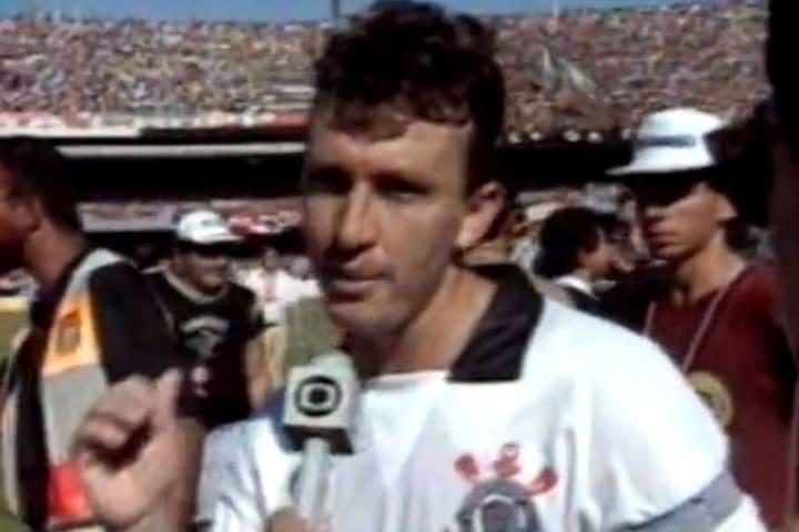 Craque Neto foi um dos personagens do Timão na década de 1990.