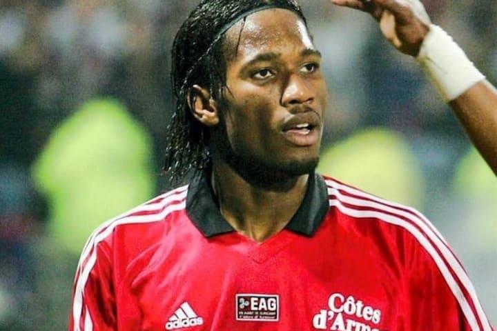Didier Drogba sous les couleurs de Guingamp.