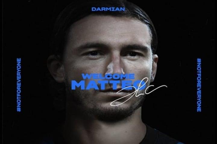 Matheo Darmian chính thức gia nhập Inter Milan