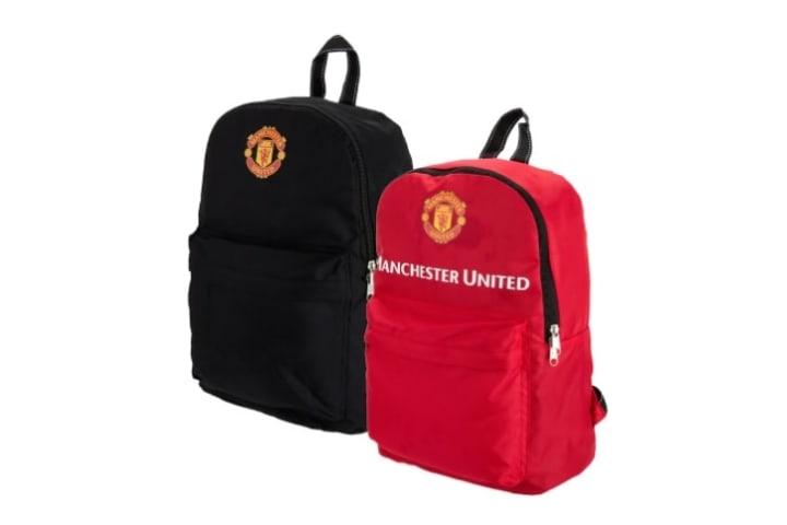 Man Utd Reversible Backpack