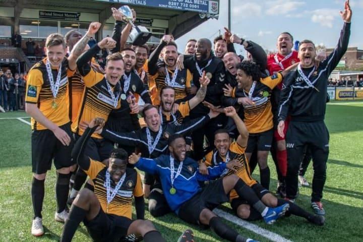 El Cray Wanderers juega en la Liga Regional de Inglaterra
