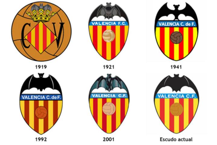 Schon immer ist die Fledermaus ein Bestandteil im Vereinslogo des FC Valencia