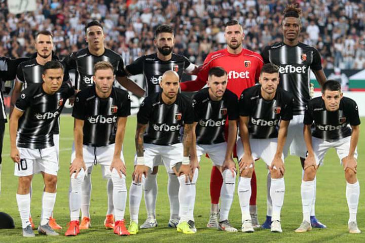 Lokomotiv played Strasbourg in the Europa League last year