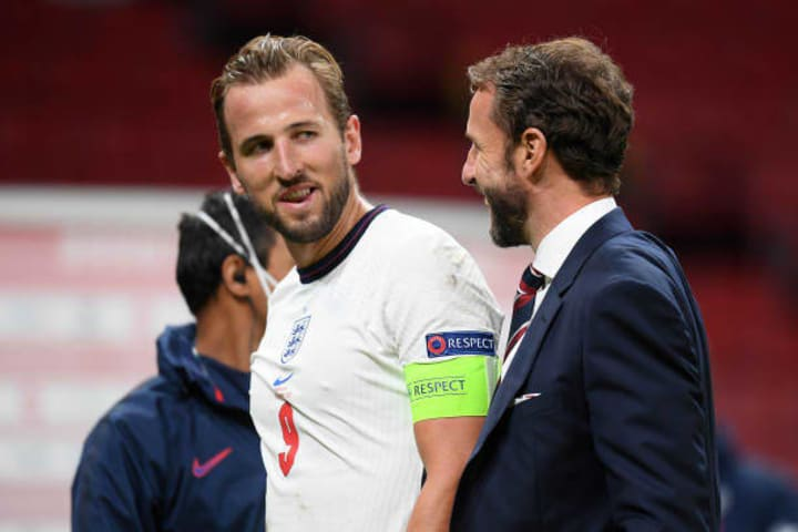 Kane was made captain in 2017 and has scored 32 goals for England