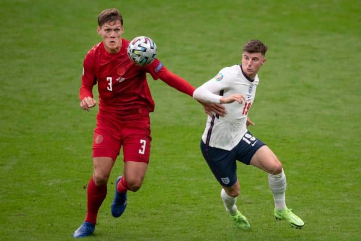 Vestergaard started against England at Euro 2020