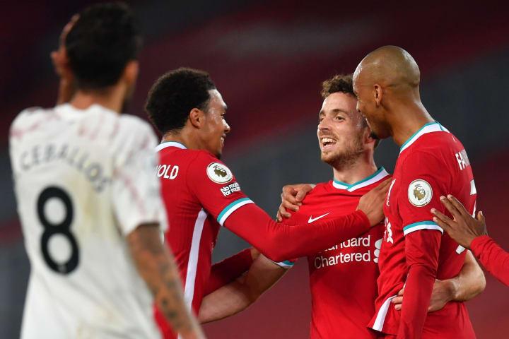 Diogo Jota Liverpool Goal