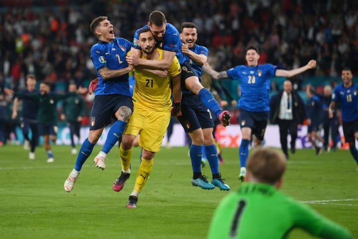 Donnarumma's heroics won Italy Euro 2020