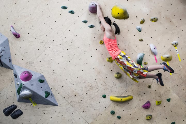 I'm a 15 year-old-girl who just happens to climb a lot. /