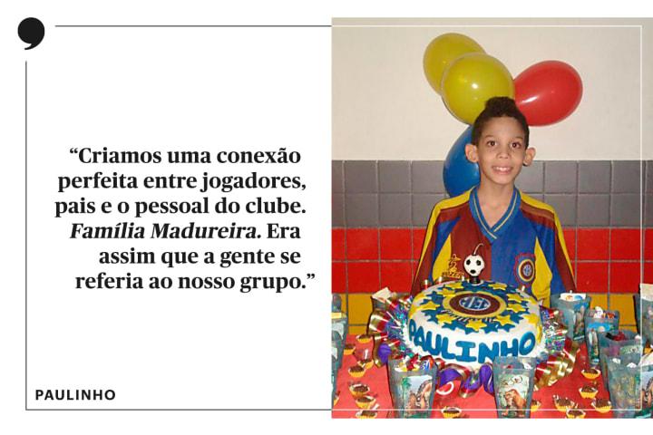 Paulinho jogador futsal Madureira