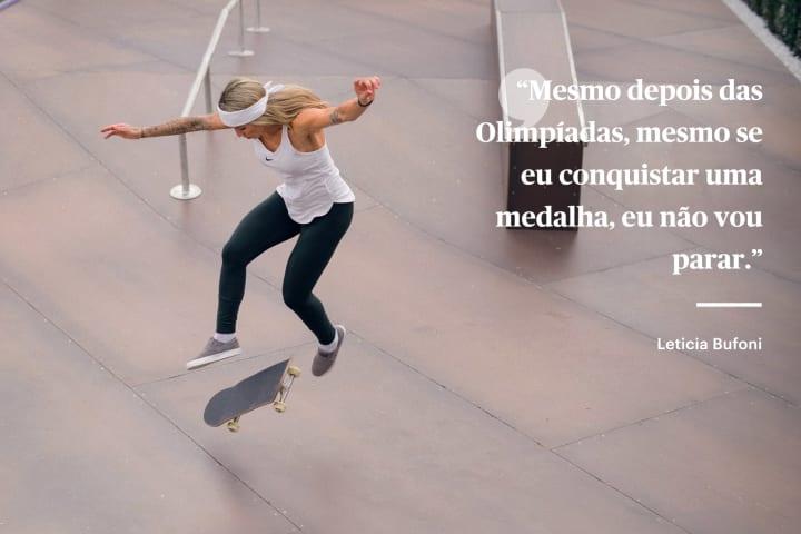Leticia Bufoni medalha Olimpiada