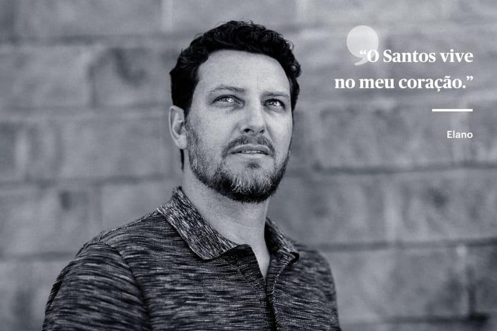 Elano carta Santos TPT Brasil