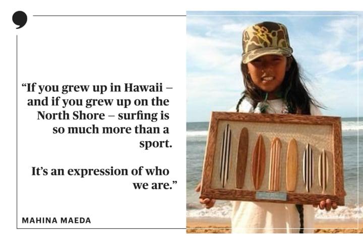 Mahina Maeda   Olympic Surfing   The Players' Tribune
