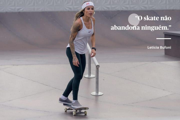 Leticia Bufoni skate olimpiada