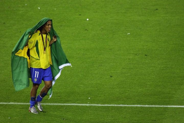 Ronaldinho Gaúcho R10 Copa do Mundo Melhor Seleção brasileira