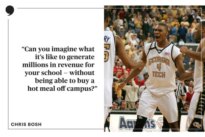 Chris Bosh | The Players' Tribune