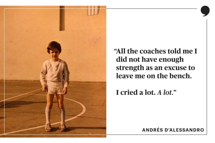 Andrés D'Alessandro | Club Nacional de Football | The Players' Tribune