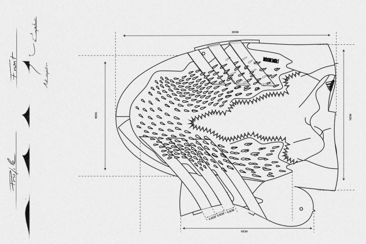 adidas Predator Freak sketches