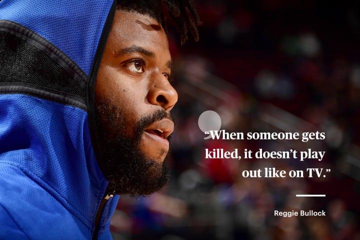 Reggie Bullock | New York Knicks | The Players' Tribune