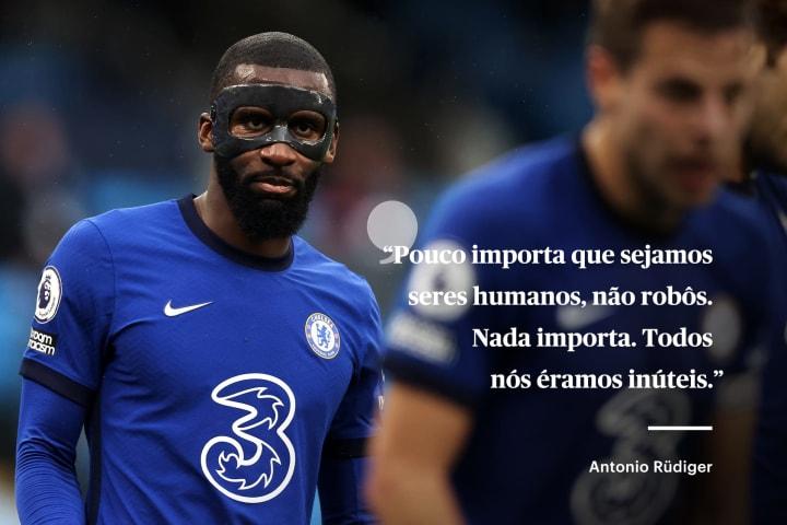 Rudiger carta The Players Tribune Chelsea