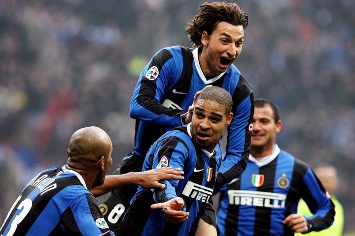 Adriano Imperador Inter Ibrahimovic