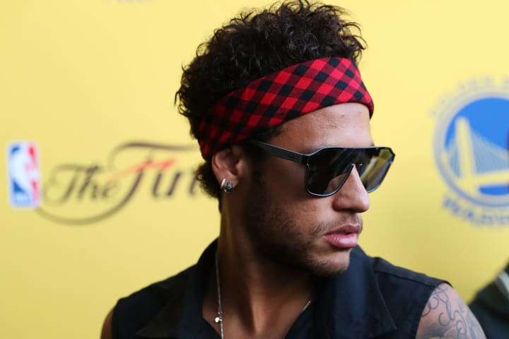 neymar golden state warriores the players tribune