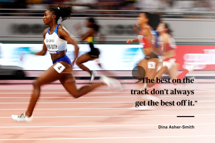 Dina Asher-Smith | Who We Elevate