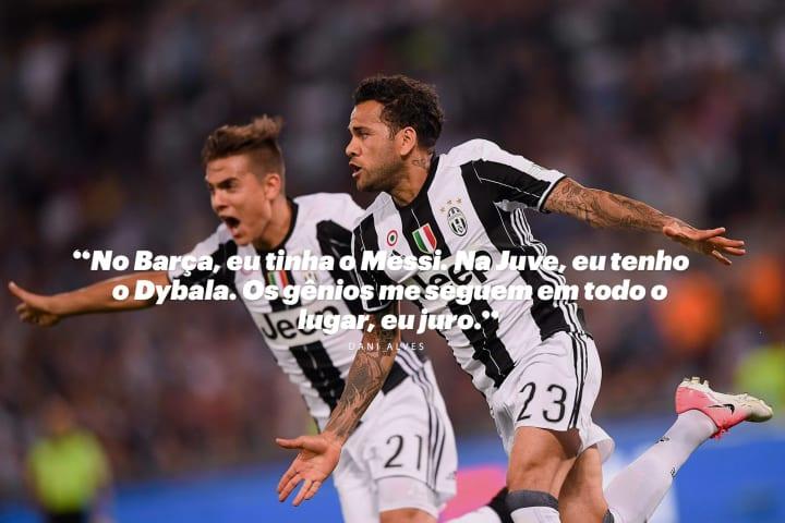Daniel Alves Dani Lateral-direito Copa do Mundo Melhor Juventus Real Madrid Champions League Seleção brasileira