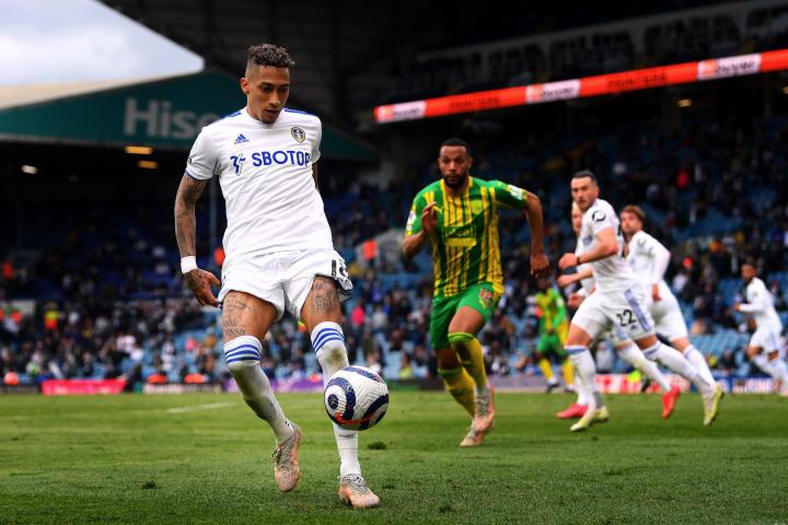 Raphinha jogador Leeds United