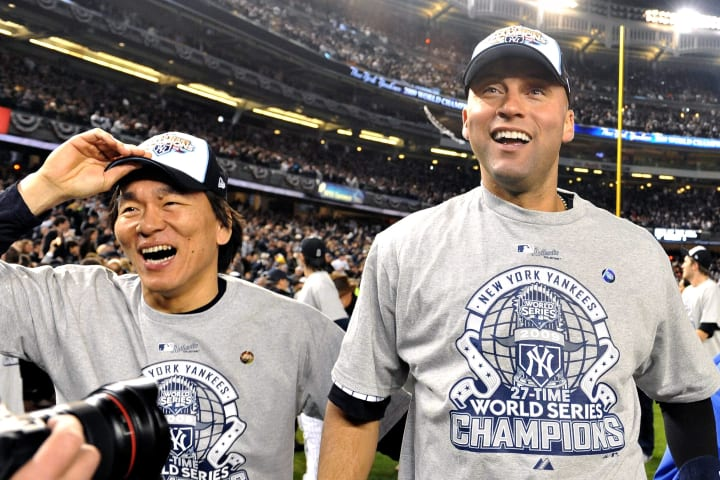Hideki Matsui | Derek Jeter | New York Yankees | The Players' Tribune