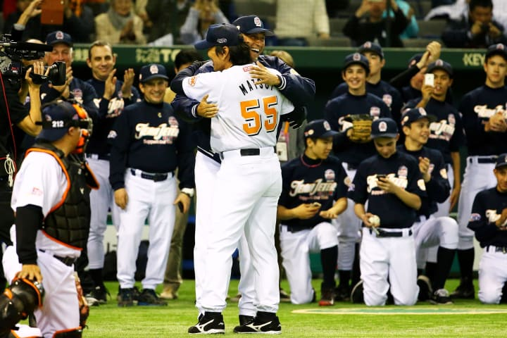Derek Jeter | Hideki Matsui | The Players' Tribune